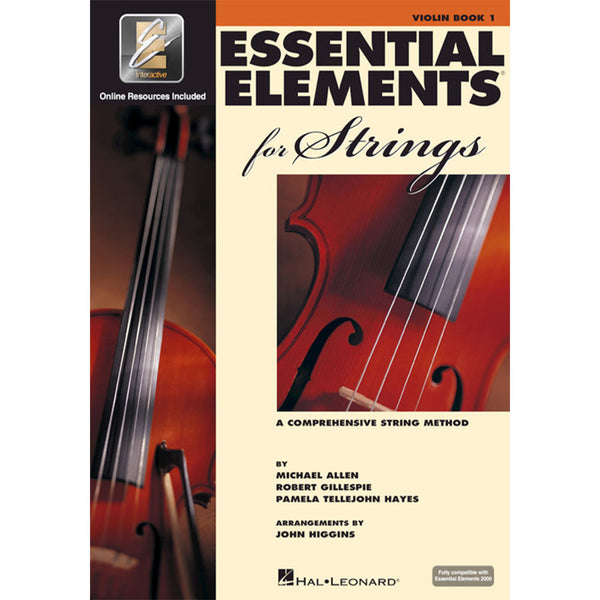 Hal Leonard Essential Elements for Strings - Book 1 with EEi -  Violin