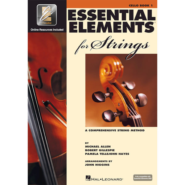 Hal Leonard Essential Elements for Strings – Book 1 with EEi - Cello