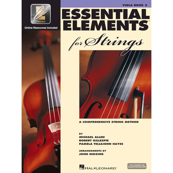 Hal Leonard Essential Elements for Strings - Viola Book 2 EEi