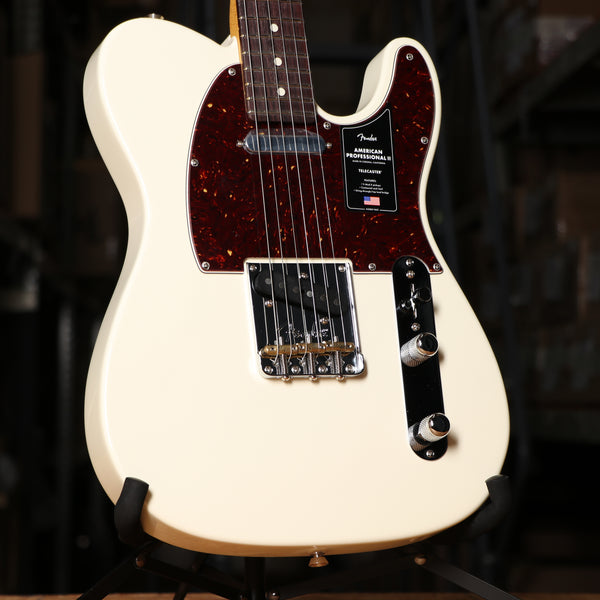 Fender American Professional II Telecaster, Rosewood Fingerboard, Olympic White