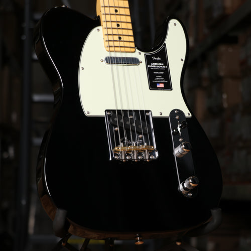 Fender American Professional II Telecaster, Maple Fingerboard, Black