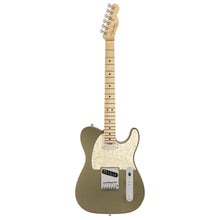 Fender American Elite Telecaster Guitar in Satin Jade Pearl Metallic