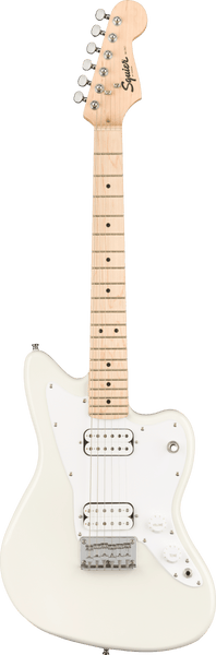 Squier Mini Jazzmaster HH Electric Guitar in Olympic White