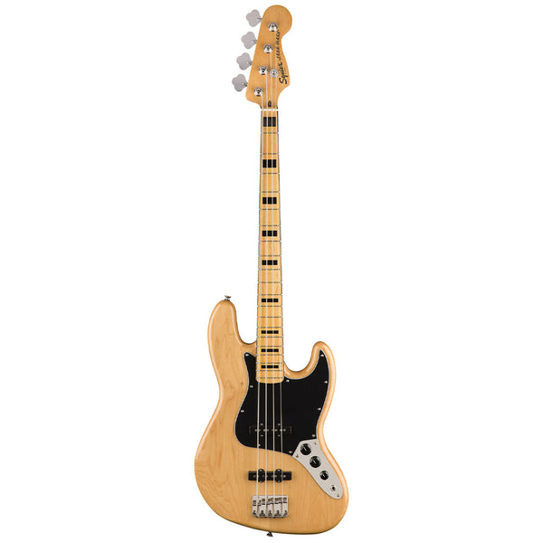 Squier Classic Vibe '70s Jazz Bass Guitar Natural Finish
