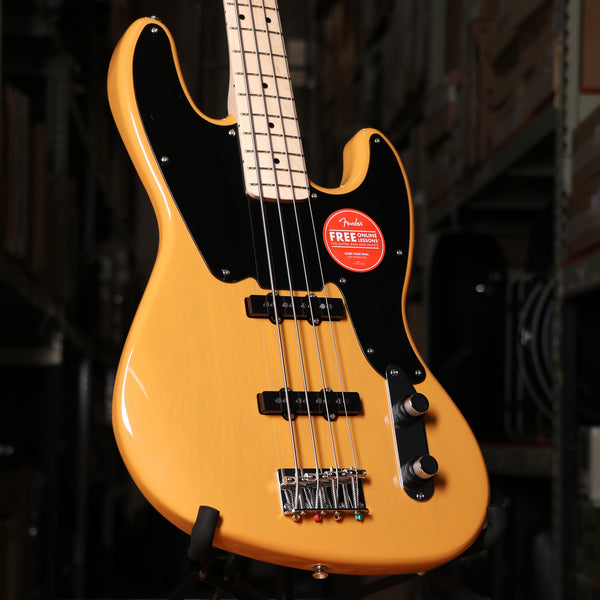 Squier Paranormal Jazz Bass 54 in Butterscotch Blonde