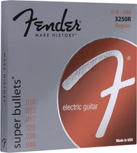 Fender Super Bullets Electric Guitar Strings - Regular Gauge