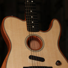 Fender Acoustasonic Telecaster Acoustic Electric Guitar in Natural
