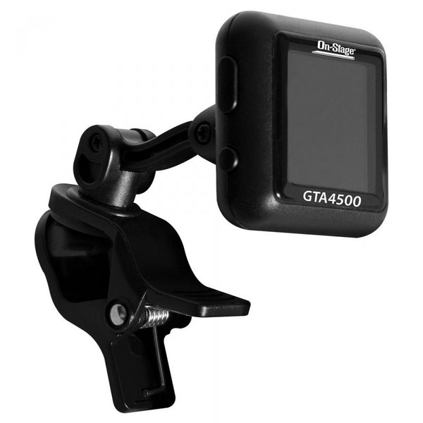 On Stage GTA4500 Rechargeable Clip-On Tuner