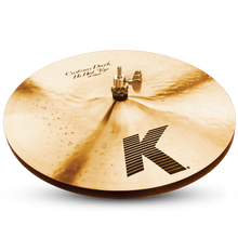"Zildjian K0943 14"" K Custom Dark Hi Hats - Pair"