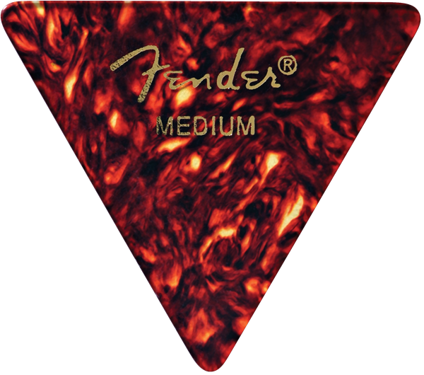 Fender Premium Celluloid 355 shape, medium - 12 pack
