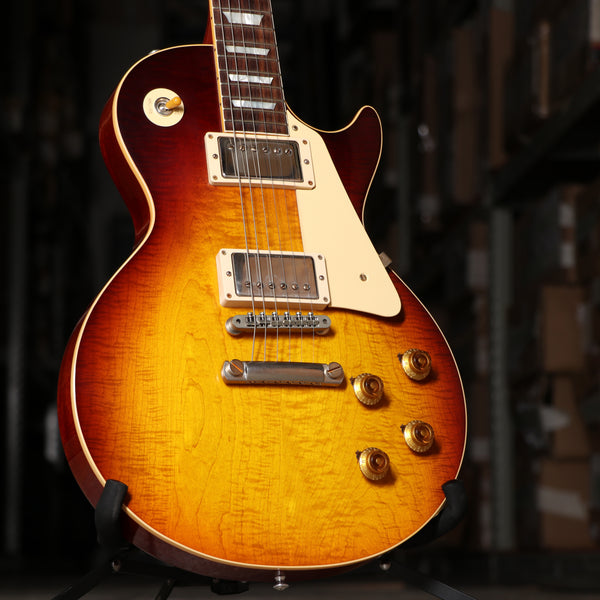 Gibson '58 Les Paul Standard VOS Electric Guitar Dark Bourbon Fade