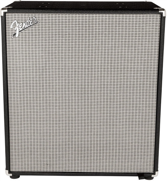 Fender Rumble 410 v3 Bass Cabinet in Black/Silver