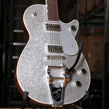Gretsch G6129T Players Edition JET FT With Bigsby Silver Sparkle