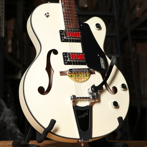 Gretsch G5410T Electromatic Rat Rod Hollowbody Electric Guitar Matte Vintage White
