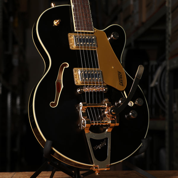 Gretsch G5655TG Electromatic Center Block Jr. Single-Cut with Bigsby in Black Gold