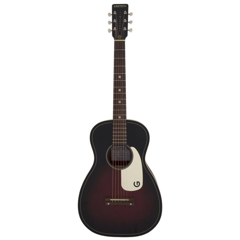 Gretsch G9500 Jim Dandy Flat Top Parlor Acoustic Guitar in Two-Tone Sunburst