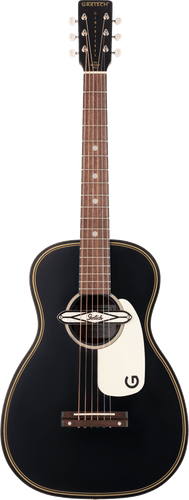 Gretsch G9520E Gin Rickey Acoustic/Electric with Soundhole Pickup in Smokestack Black