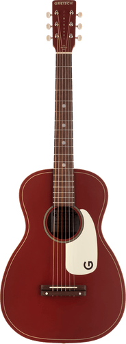 Gretsch G9500 Limited Edition Jim Dandy Flat Top Parlor Acoustic Guitar in Two-Tone Oxblood