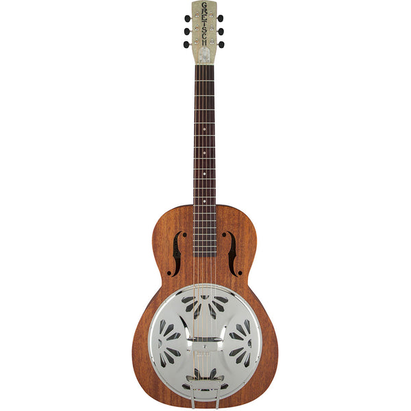 Gretsch G9200 Boxcar Roundneck Resonator Mahogany Long Body