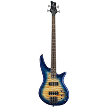 Jackson JS Series Spectra JS3Q Electric Bass Guitar Laurel Fingerboard in Amber Blue Burst