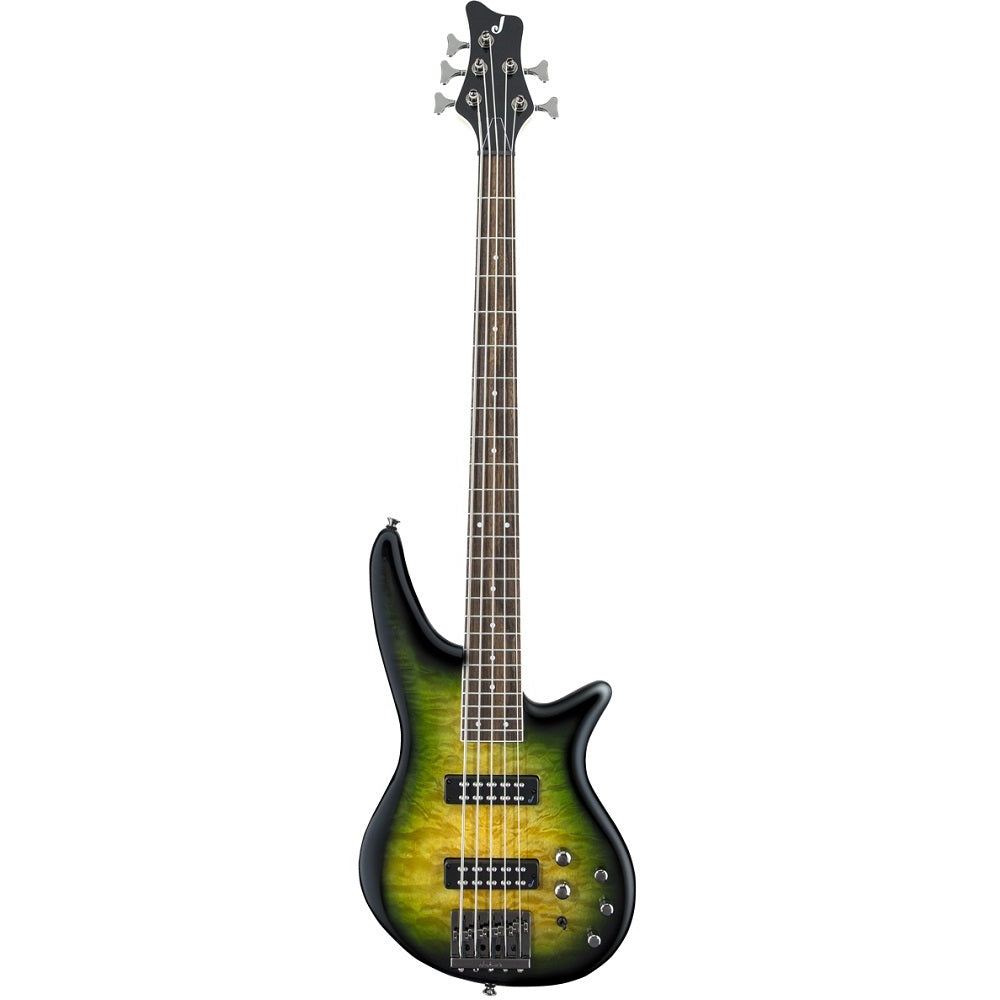 Jackson JS Series Spectra Bass JS3QV, Laurel Fingerboard, Alien Burst