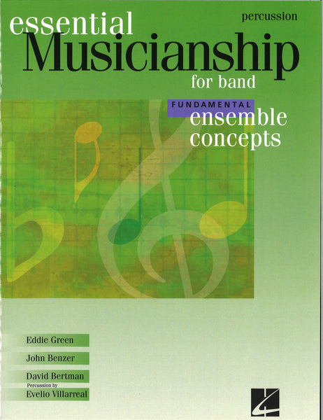 Essential Musicianship for Band Fundamental Ensemble Concepts - Percussion