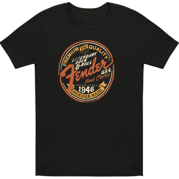 Fender Legendary Rock N Roll Junior Crew T-Shirt, XL Limited - 9129008606