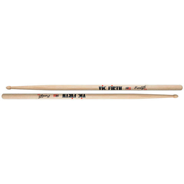 Vic Firth Rock American Concept Freestyle 85A Hickory Drumsticks