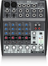 Behringer 802 Compact 8-Channel Audio Mixer