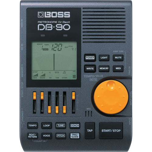Boss DB-90 Dr. Beat Metronome with Rhythm Coach