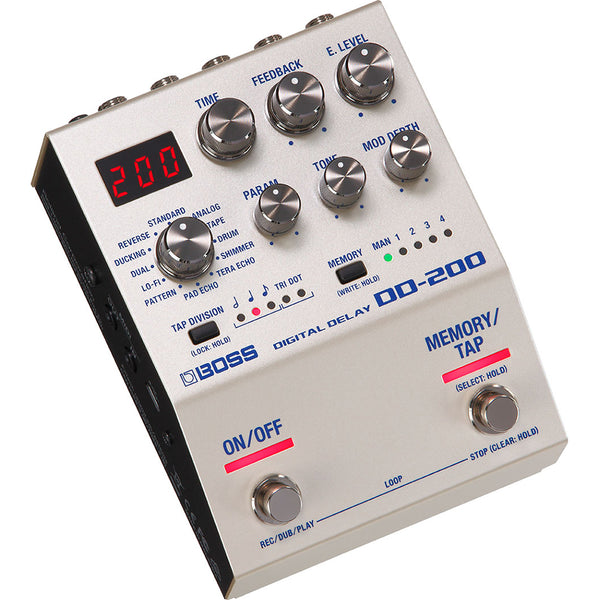 Boss DD-200 Digital Delay Pedal - Ken Stanton Music