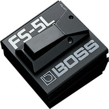 Boss FS-5L Metal Latched Footswitch Black with LED