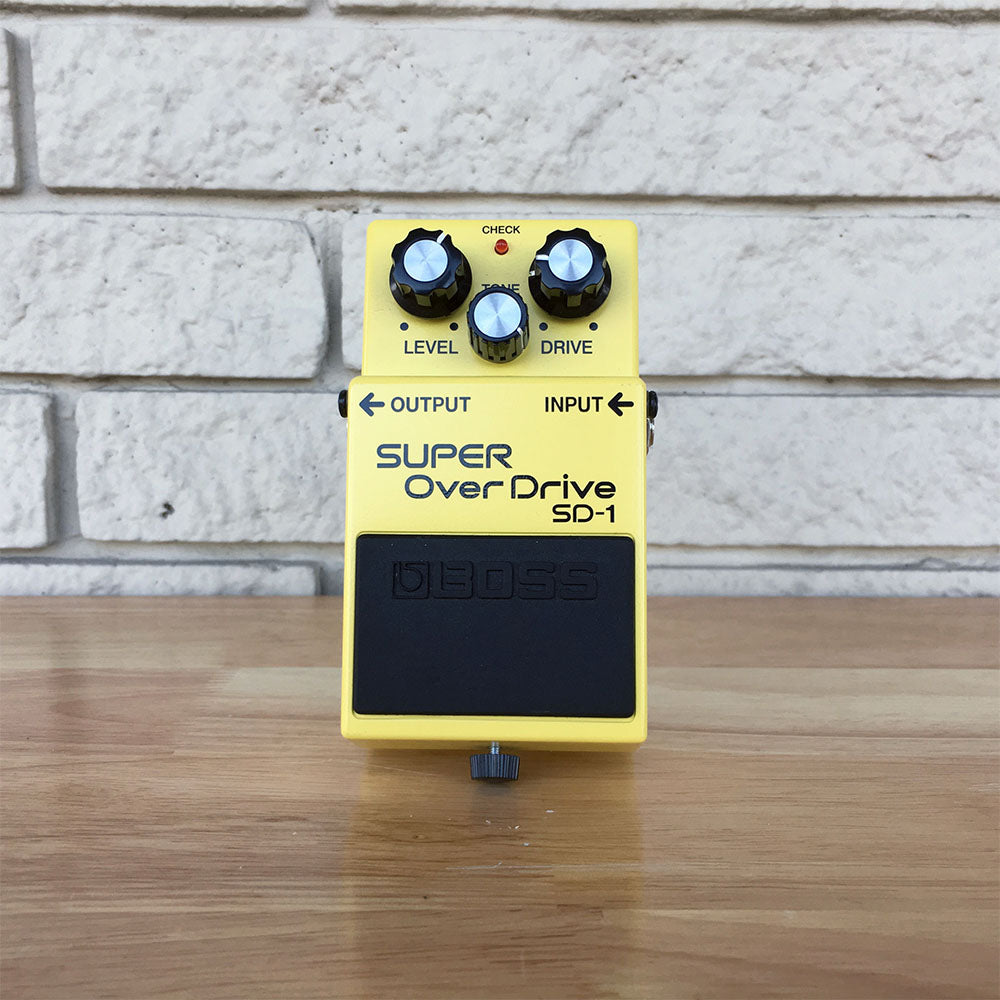 Boss SD-1 Super Overdrive Pedal