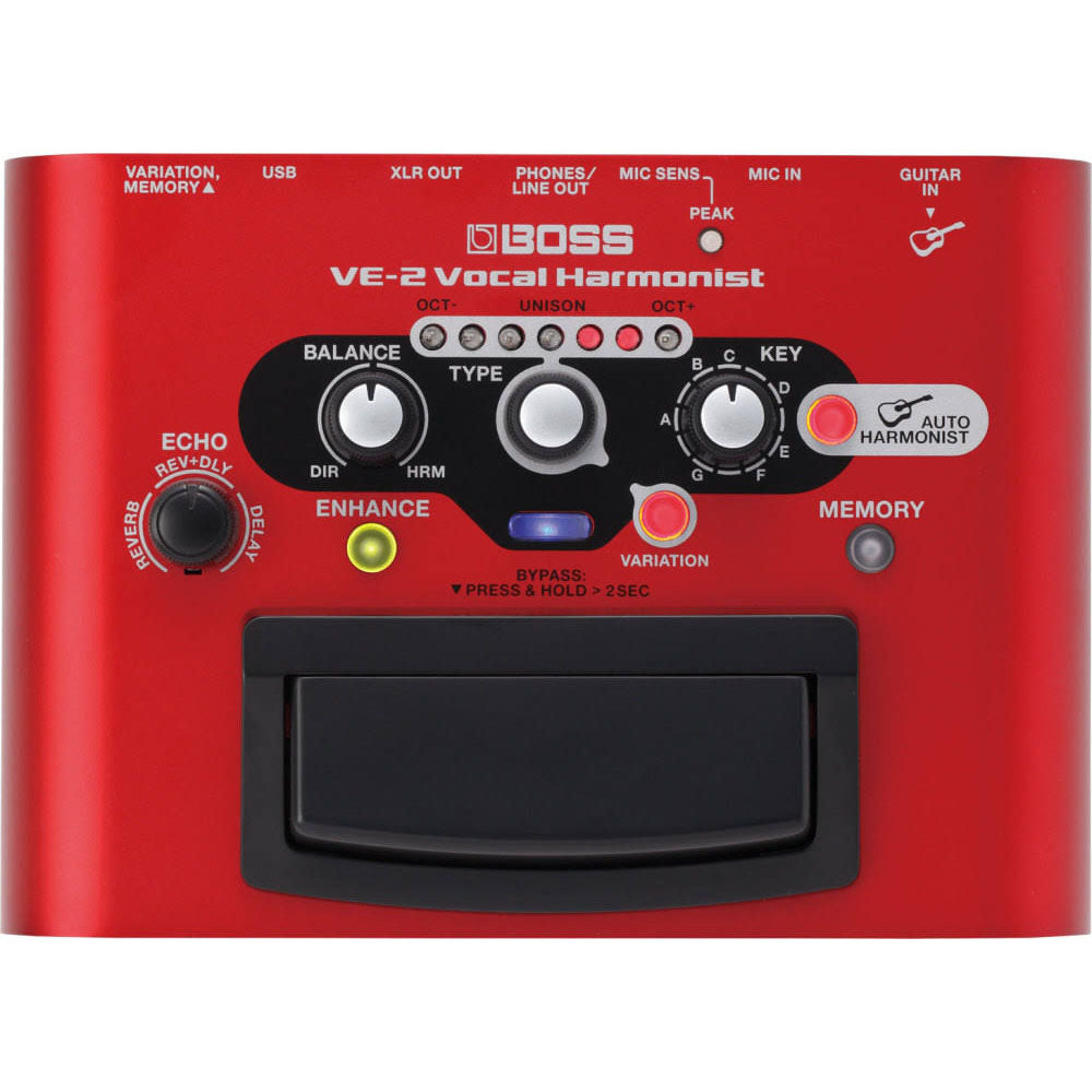 Boss VE-2 Vocal Harmonist Effects Pedal