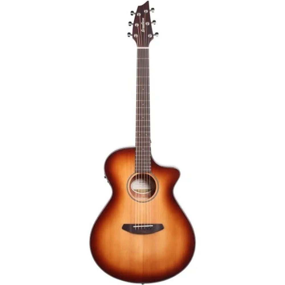 Breedlove Discovery Concert CE Mahogany Acoustic Electric Guitar - Sunburst