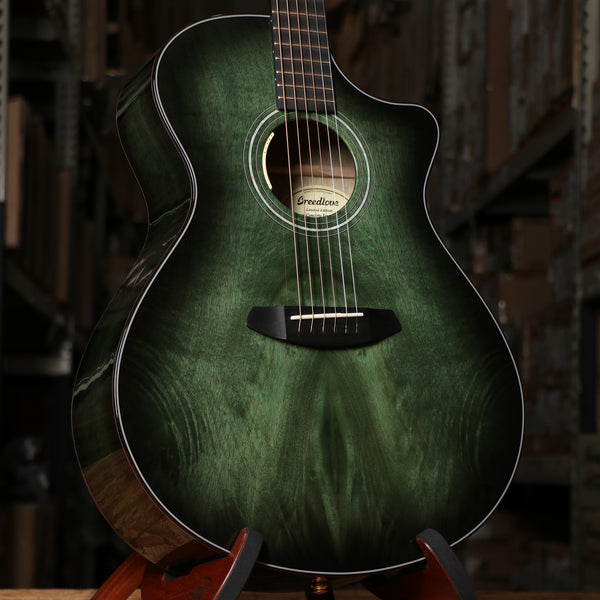 Breedlove Limited Edition Oregon Concerto Emerald CE Acoustic Electric Guitar