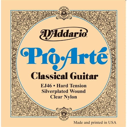Pro-Arte Nylon Classical Guitar Strings - Hard Tension