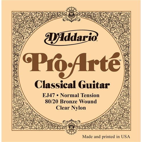 80/20 Bronze Pro-Arte Nylon Classical Guitar Strings - Normal Tension