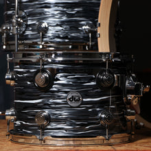 DW Collector's Series 3-Piece Maple Shell Kit in Black Oyster with Chrome Hardware.