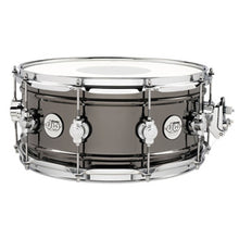 DW Design Series Black over Nickel Brass 14x6.5 Snare