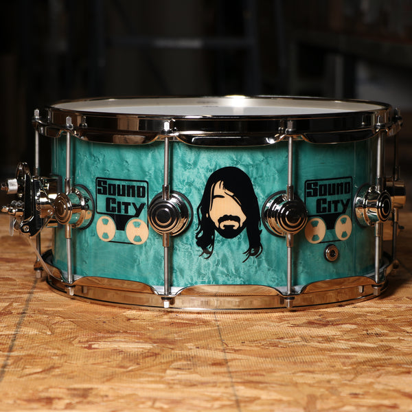 DW DREX6514DG 6.5x14 Icon Series Dave Grohl Signiture snare drum