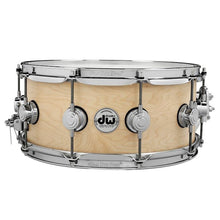 DW Collectors Series 6.5x14 Natural Maple Snare - Satin Oil Finish