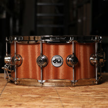 DW Collector's Series Snare 6.5x14 Satin Oil Over Maple/Mahogany with Nickel Hardware