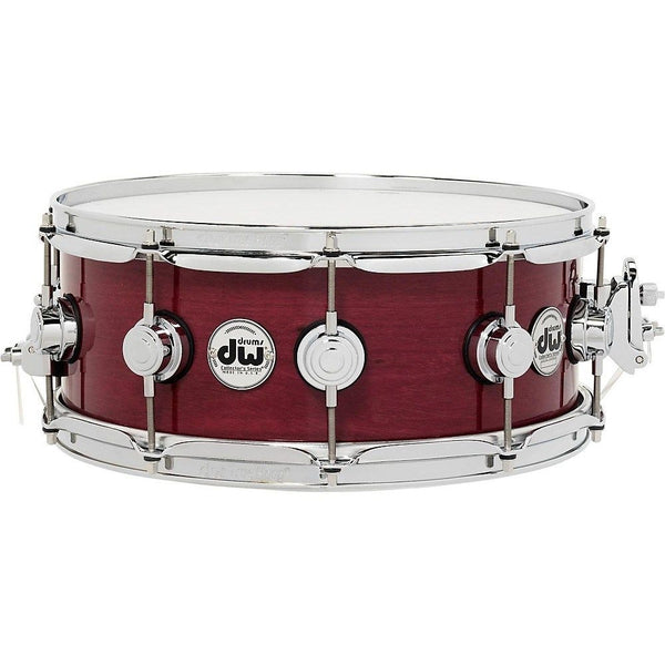 DW Collector's Series Purpleheart Lacquer Custom Snare Drum With Chrome Hardware 14 X 5.5