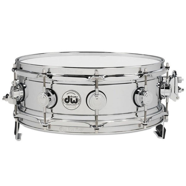 DW DRVC0514SAC Collector's Series True-Sonic 5x14 Snare Drum Chrome Over Brass