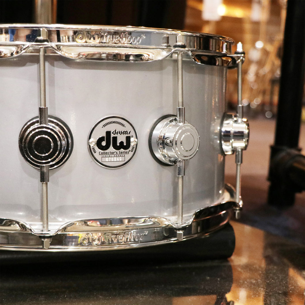 DW Collectors Series 6.5x14 Rolled Aluminum with Chrome Hardware