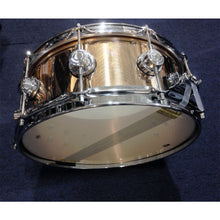 DW Collector's Series Snare - 5.5x14 Polished Bronze Roots Rock
