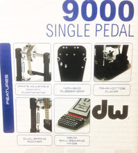 DW DWCP9000 9000 Series Single Kick Pedal