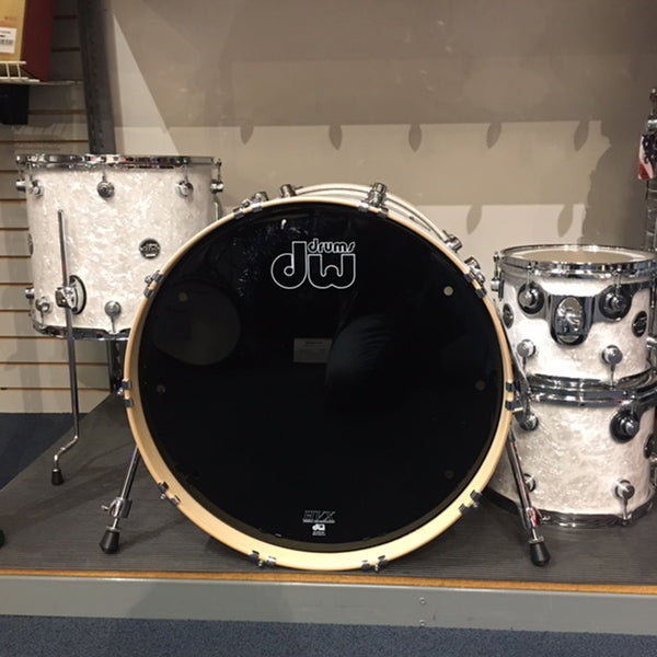 DW Performance Series 4 Piece Shell Pack- White Marine Pearl