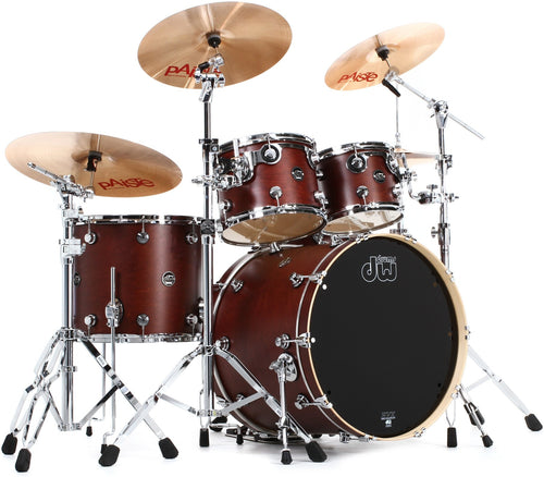 DW PSC04AATB Performance Series 4 Piece Shell Pack- Tobacco Satin Oil